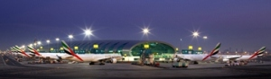 Ready to fly - an image from Dubai Airport. - Emirates Photo.
