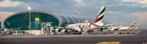 Dubai International Airport. Emirates Photo.