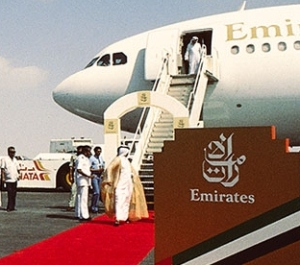 This Friday, Emirates celebrates the 28th anniversary of its maiden flight -   Emirates Photo.