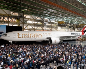 Emirates is already the largest customer of Boeing 777s.  Boeing photo