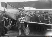 The historic flight fo 1928
