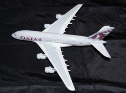 The Qatar A380 (from my collection.)