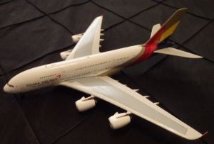 The Asiana A380 (from my collection).