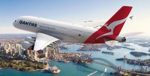 The Qantas A380. Qantas photo.