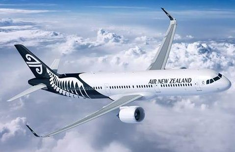 The Airbus A321neo in Air New Zealand livery. Airbus photo.