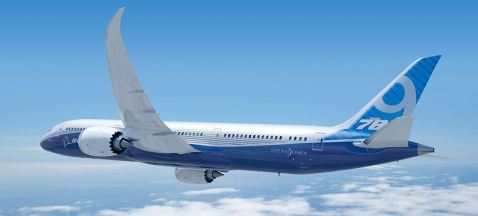 The Boeing 787-9 Dreamliner