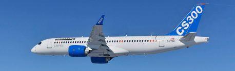 The Bombardier CS300