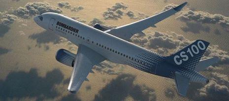 The Bombardier CS100
