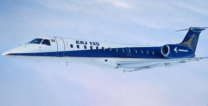 The Embraer ERJ135