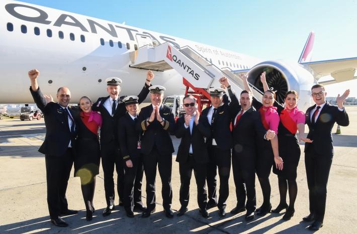 Qantas Longest Flight